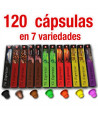 Gran Oferta 120 cápsulas de café en 7 variedades