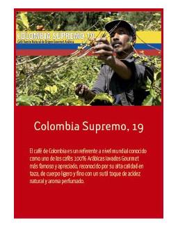 Colombia Supremo, 19 en grano Doypack 250g