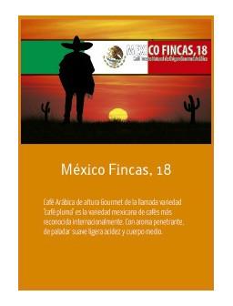 Mexico Fincas en grano Doypack 250g