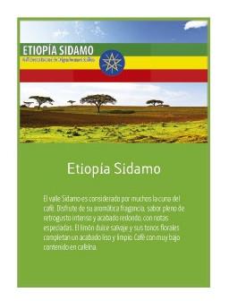 Ethiopia Sidamo en grano Doypack 250g