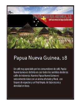 Papua Nueva Guinea en grano Doypack 250g