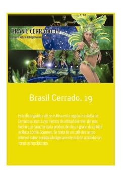 Brasil Cerrado, 19 en grano Doypack 250g
