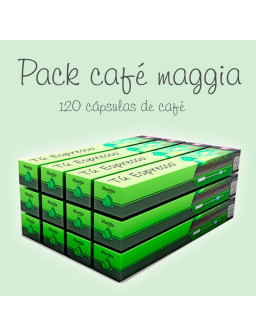 Pack Café Maggia - 120 Cápsulas Compatibles
