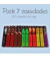 Pack 7 Variedades - 120 Cápsulas Compatibles