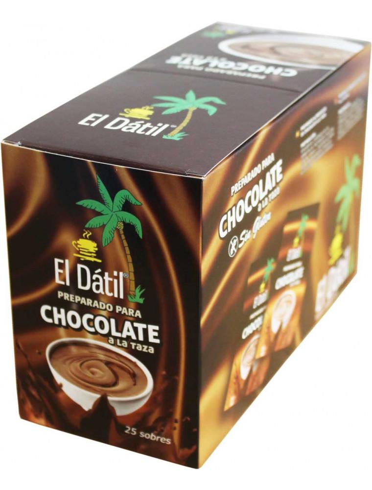 Chocolate a la taza en sobres - El Dátil