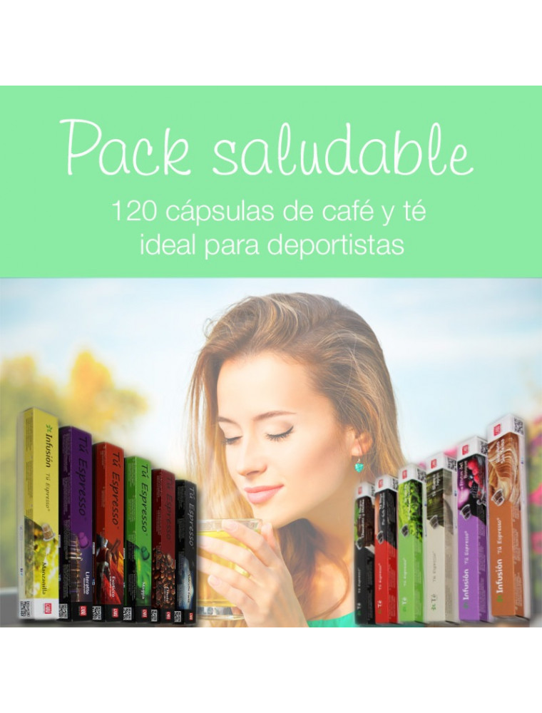 Pack Saludable: Tés, Infusiones y Cafés