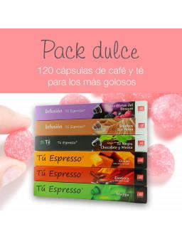 Pack Dulce - 120 Cápsulas Compatibles