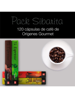 Pack sibarita - 120 Cápsulas Orígenes Gourmet