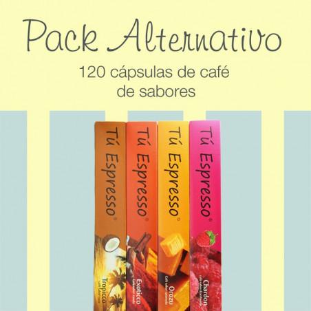 Pack Altenativo - 120 Cápsulas de Café de Sabores