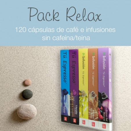 Pack Relax - 120 Cápsulas Compatibles