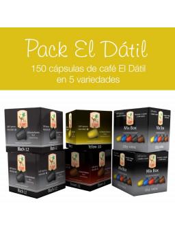 Pack 150 Capsulas El Dátil - Formato Ahorro