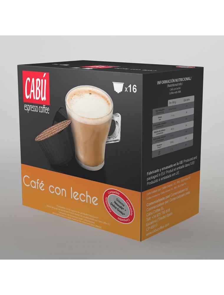 Café con Leche - Cápsula Compatible Dolce Gusto®**