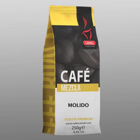 Café Premium 70/30 GRANO (x2) + Vajilla Cabú Coffee