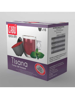 Infusión Tisana Frutas del Bosque - Cápsula Compatible Dolce Gusto®**