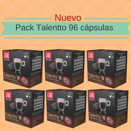 Pack Café Espresso Talentto - 96 Cápsulas