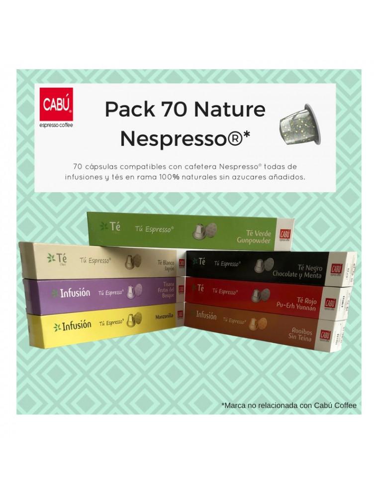 Pack 70 cápsulas Nespresso®
