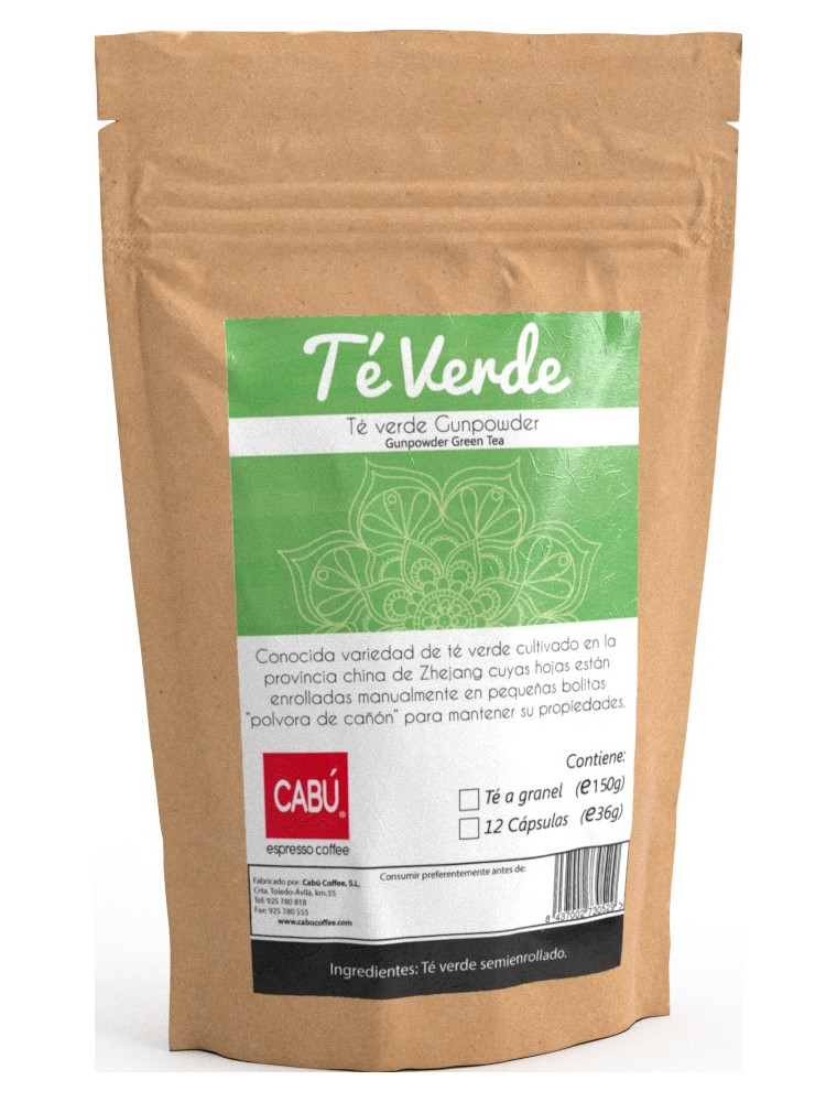 Té verde gunpower
