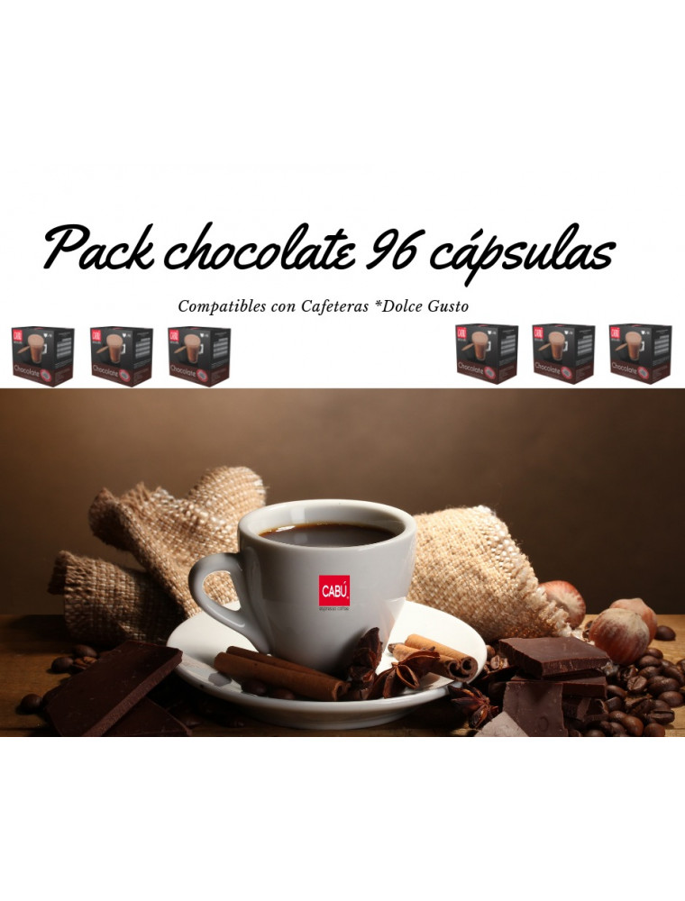 Pack Chocolate 96 Dolce Gusto