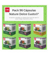 Pack Nature 96 cápsulas Dolce Gusto®*