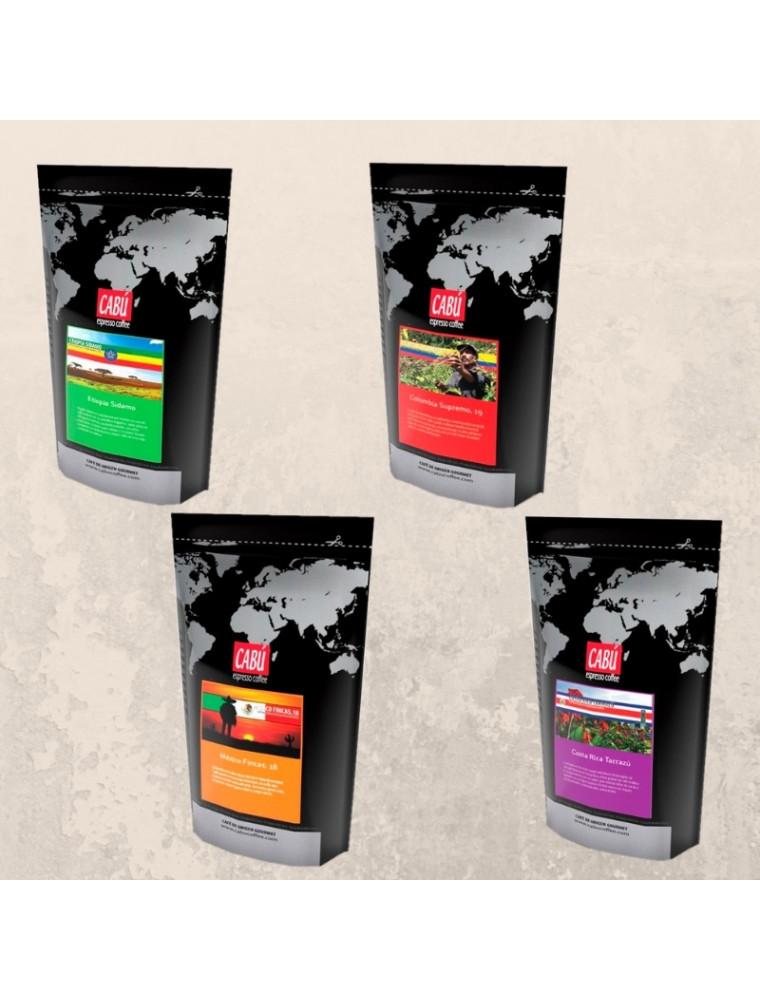 Pack 2 Cafés de Especialidad Molido